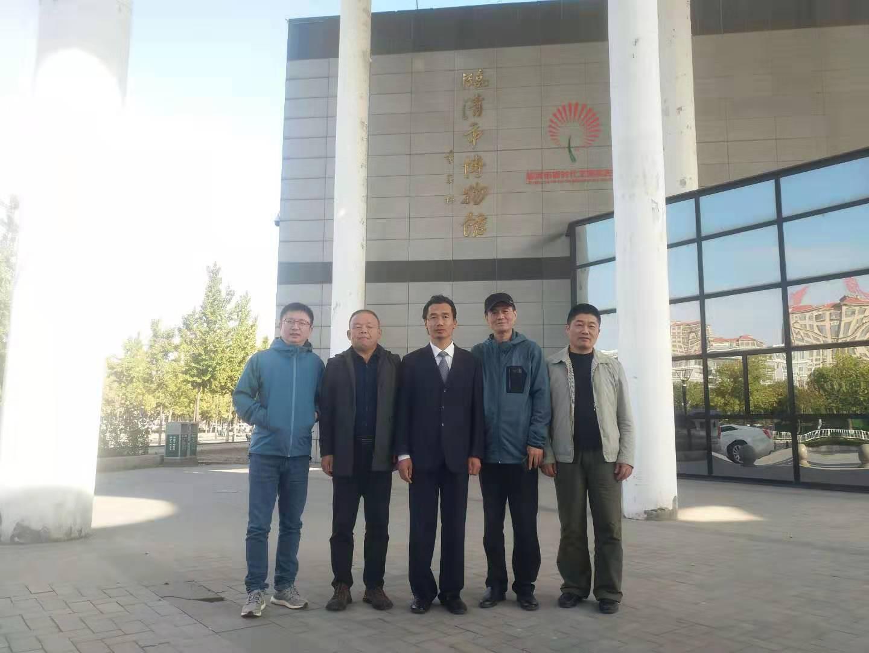 温州市电影家协会副主席李捷到聊城考察交流