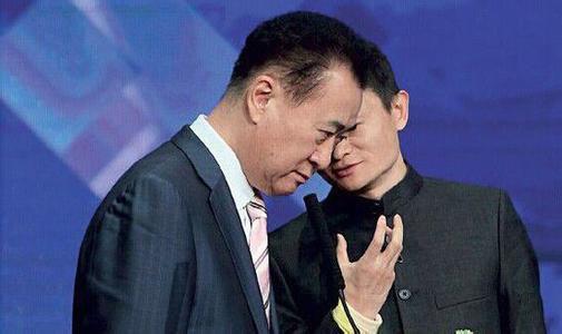 王健林抢马云首富
