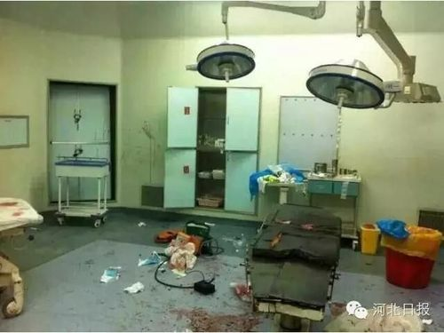 曝河北医院发生暴力事件 多人持刀进急诊室砍人