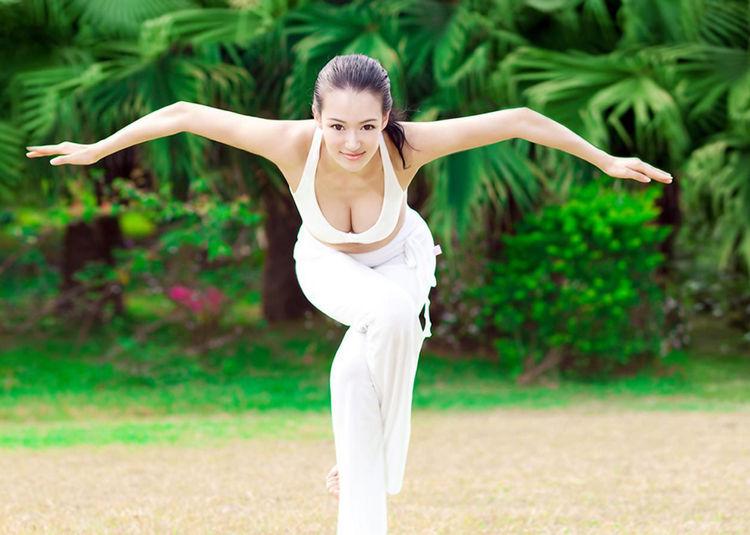 亚洲最美瑜伽教练 没有最美只有更美