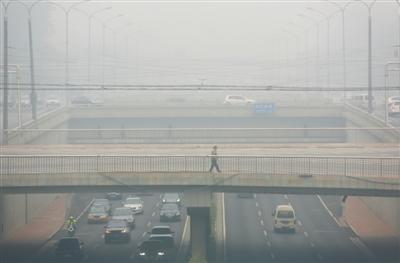 北京空气污染升级 是否进入雾霾高发期?