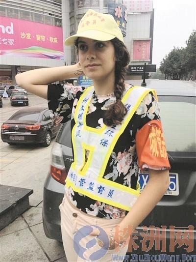 """英国姑娘湖南当城管 外来的""""和尚""""会念经?"""