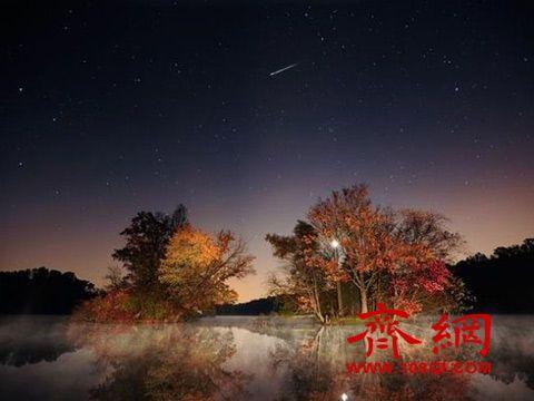 猎户座流星雨22日极大 每年两度照亮夜空